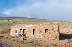 Casa de estación en pico de los lucios Imágenes de archivo libres de regalías