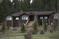 Casa de férias Imagem de Stock Royalty Free