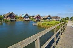 Casa de férias de Dinamarca Foto de Stock