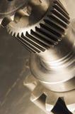 Casa de fieras mecánica en sepia Fotografía de archivo libre de regalías
