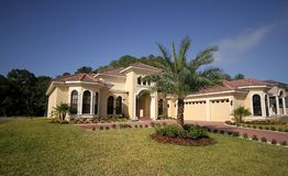 Casa de Florida Fotografia de Stock Royalty Free