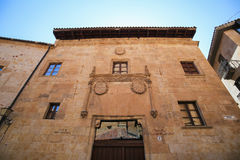 Casa de Francisco de Solis in Salamanca, Spain Stock Photography