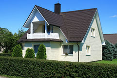 Casa de gama alta nova Fotos de Stock