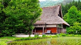 Casa de Gassho Foto de archivo libre de regalías