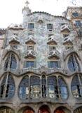 Casa de Gaudi Fotos de archivo
