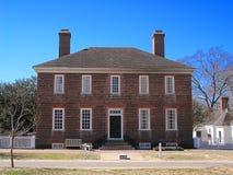 Casa de George Wythe Fotografía de archivo libre de regalías