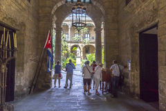 Casa DE Gobierno y Gemeentelijke Palacio, Havana Cuba #1 Royalty-vrije Stock Afbeeldingen