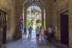 Casa de Gobierno y kommunala Palacio, Havana Cuba #1 Royaltyfria Bilder