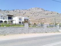 Casa de Grécia Rhodos Fotografia de Stock Royalty Free