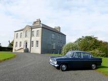 Casa de Gracehill en Irlanda del Norte Foto de archivo libre de regalías