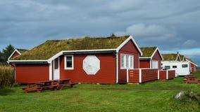 Casa de hóspedes de Hustadvika Fotos de Stock Royalty Free