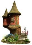 Casa de hadas de la torre del castillo
