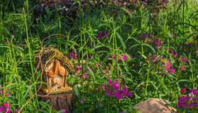 Casa de hadas del jardín Imagen de archivo