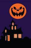 Casa de Halloween Fotos de archivo libres de regalías