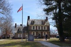 Casa de Hancock fotos de archivo libres de regalías