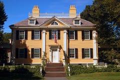 Casa de Henry Wadsworth Longfellow fotos de stock