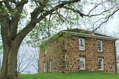 Casa de Hitchcock, Lewis, Iowa, en Cass County Imagen de archivo libre de regalías