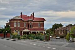 Casa de Hobart Victoria Style Imagen de archivo