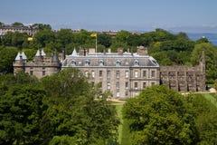 Casa de Holyrood, Edimburgo Foto de archivo libre de regalías