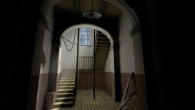 Casa de Hounted Imágenes de archivo libres de regalías