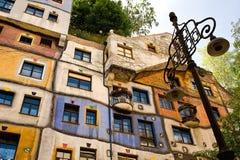 Casa de Hundertwasser Fotos de archivo