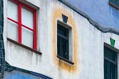 Casa de Hundertwasser en Viena, Austria, Europa Foto de archivo libre de regalías