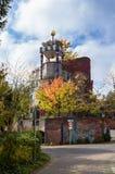 Casa de Hundertwasser, Soden mau, Alemanha Fotos de Stock Royalty Free