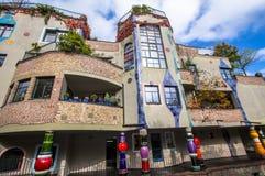 Casa de Hundertwasser, Soden mau, Alemanha Imagem de Stock Royalty Free