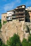 Casa de Hunging na cidade de Cuenca Imagem de Stock Royalty Free