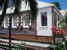 Casa de ilha/marco local Imagens de Stock Royalty Free