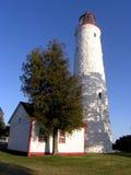 Casa de iluminación de Clark de la punta. Foto de archivo libre de regalías