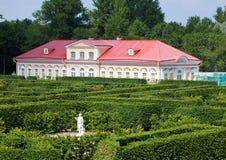 Casa de imagen Oranienbaum (Lomonosov) imagen de archivo libre de regalías