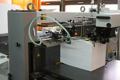 Casa de impressão Imagens de Stock