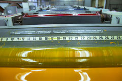 Casa de impressão Fotografia de Stock Royalty Free