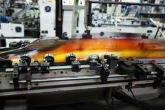 Casa de impressão moderna imagens de stock