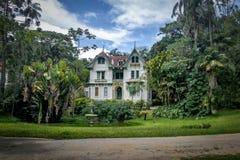 Casa de Ipiranga ou Tavares Guerra Mansion - Petropolis, Rio de janeiro, Brasil fotografia de stock royalty free