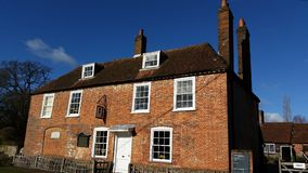 Casa de Jane Austen Foto de archivo