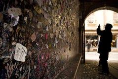 Casa de Juliet, Verona, Italia Imágenes de archivo libres de regalías