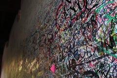 Casa DE Julieta graffiti, Verona, Italië royalty-vrije stock afbeeldingen