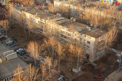 Casa de Khrushchev de la URSS Fotos de archivo libres de regalías