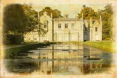 Casa de Kilruddery rebuzno irlanda imagenes de archivo