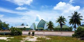 Casa de Kiribati del parlamento imagenes de archivo