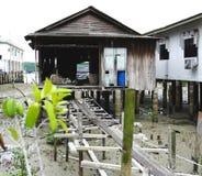 Casa de Kukup imagem de stock royalty free
