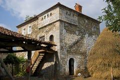 Casa de Kulla, Dranoc, Kosovo Fotografia de Stock Royalty Free