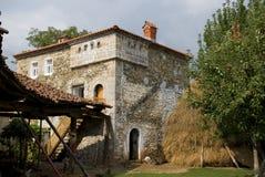 Casa de Kulla, Dranoc, Kosovo fotos de stock