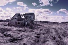Casa de la abuela Imagen de archivo