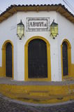 Casa de la Abuela dans Suchitoto photo libre de droits