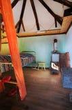 Casa de la aldea Imagenes de archivo