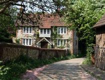 Casa de la aldea Imagen de archivo libre de regalías