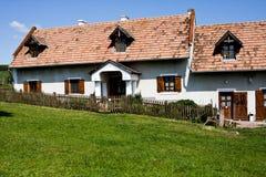 Casa de la aldea Foto de archivo